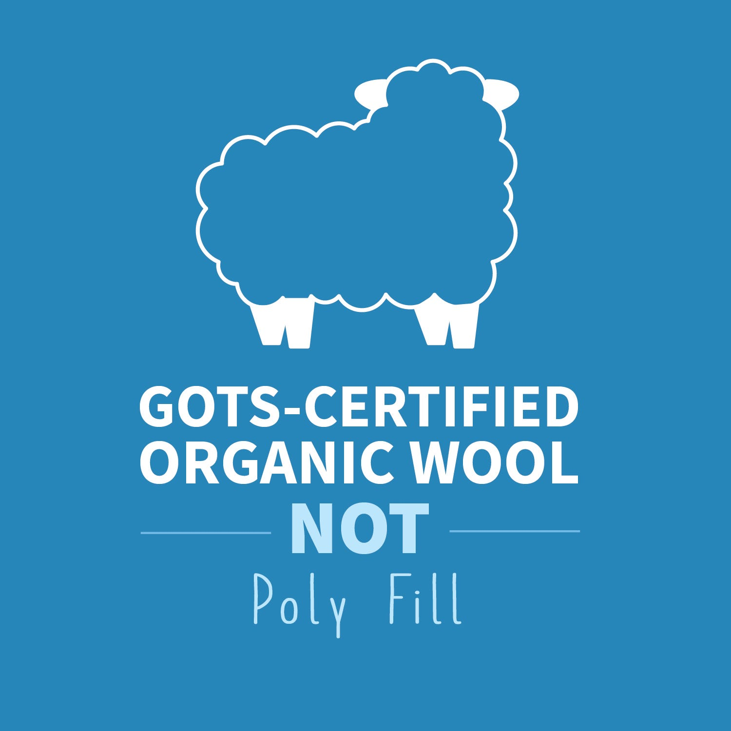 GOTS certified wool